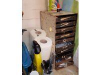 10 drawer metal tool case