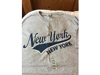 New York City men's t shirts size Large
