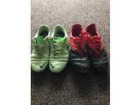 Both size 1,Nike football boots