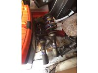 Front coilovers for corsa c/ combo c