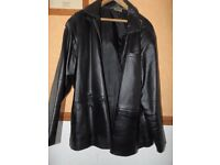 Premier Man Leather Casual Jacket