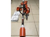 Stihl cordless hedge cutter and strimmer