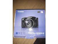 Canon Powershot SX500 IS Digital Camera and Mantona Carry Bag