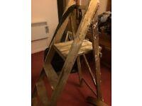 Retro Wooden Ladder