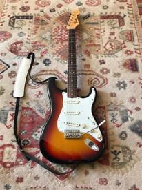 Fender American Vintage 65 Stratocaster three tone sunburst