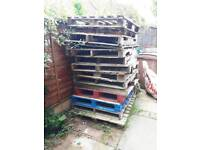 Pallets for firewood / kindling