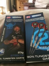 2 new boxes of darts