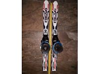 Head skis, Atomic boots and SL45 bindings