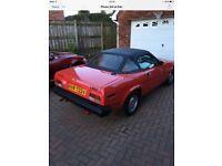 Triumph TR7 soft top for sale