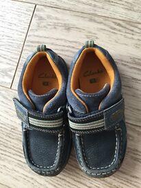 Clarks boys shoes size 9f infants