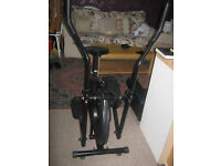 Trainer and exercise bike £55