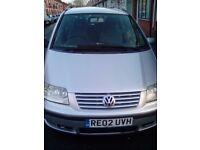 Volkswagen sharan 2002 full year mot 850