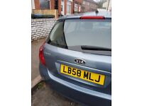 KIA 2009 GREAT CONDITION 12 MONTH MOT ELECTRIC WINDOW CD PLAYER ALLOY WHEELS.