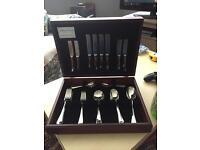 Arthur Price 44 rattail piece cutlery set (canteen) RRP £450