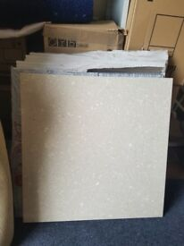 Job lot of marble slabs 60cm x 60cm