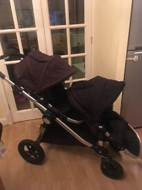 Baby Jogger City Select (Double) black - with extras