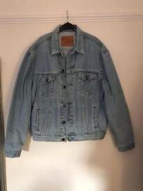 Levi's men's vintage denim jacket XL