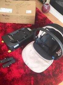 Silvercross car seat and simplifix isofix base