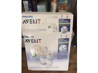 Used Avent manual breast pump