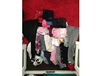 Mixed bundle of clothes aged 10 to 11