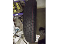 SPACESAVER TYRE NEW 125 90 16 MG ROVER MERCEDES FOCUS MONDEO