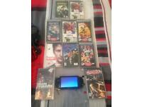 Sony psp with ten games