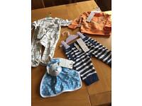 Job lot of brand new baby clothes