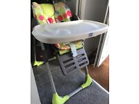 Chicco Poly High Chair Excellent Condition Baby Kids