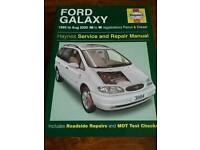 Ford galaxy / volkswagen Sharan haynes workshop manual