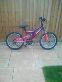 """Girls 20"""" mountain bike"""