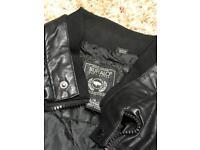Leather Jacket mens size L
