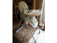 Mothercare High chair Safari animals pattern