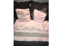 Next 'some bunny loves me' cot bedding set