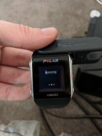 Polar V800 Sports Watch - Complete with charger and heart-rate chest-strap - RRP £389