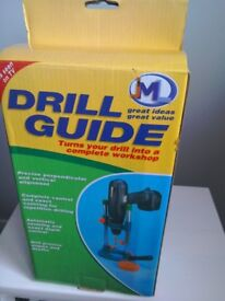 Drill guide with manual never used