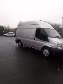 Ford transit trend1owner very good condition11 months mot 57 plate drives great