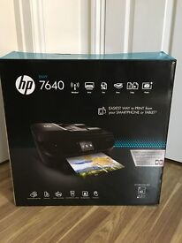 New HP 7640 Envy e-All-in-One Printer