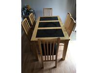 Excellent condition kitchen table and chairs