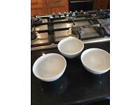 3 bodum bowls