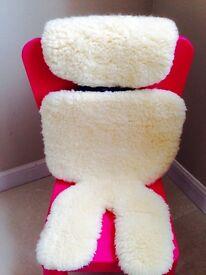 Bowron Baby Stroller Sheepskin Liner