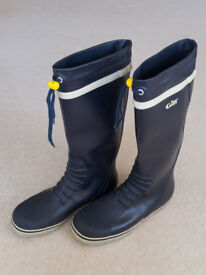 Gill Men's Tall Yachting Boots Navy UK 8 EU 42