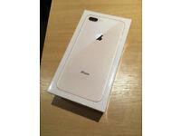 Apple iPhone 8 Plus 256GB (Factory Unlocked) Gold (MQ8R2B/A) *New & Sealed*