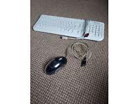 2 Computer Monitors, Mouse, Keyboard