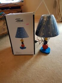 2 x Children's sun and moon bedside lamps. Brand new...one still in box.