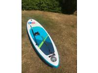 """Red Paddle Co stand up paddle board snapper 9' 4"""" X 27"""" 6 months old"""