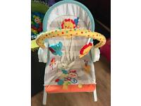 Baby stuff for sale 3-1 swing with music and battery operated