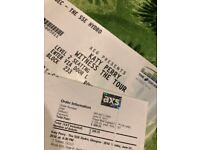 Pair of Katy Perry Witness VIP Gold Tickets. SSE Hydro, Glasgow, Sunday 24th June 2018
