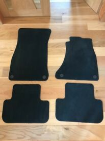 Genuine Audi Carpet Floor Mats for B8 A4 S4 RS4 A5 S5 RS5 - 8K2 863 691 C QA5