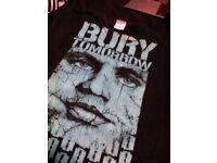 RARE bury tomorrow t-shirt & xmas t-shirt bundle