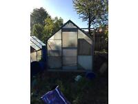 8ft x 6ft greenhouse (1 of 2)
